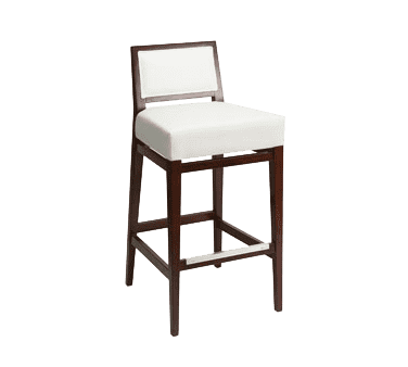 Florida Seating CN-672B GR3 Bar Stool. upholstered back & seat