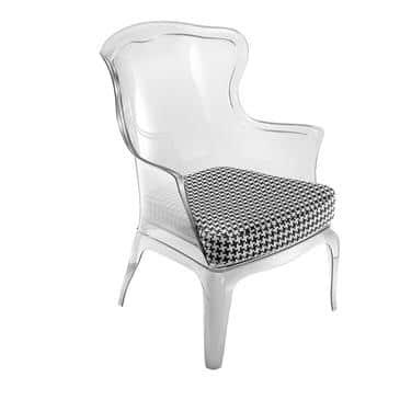 Florida Seating PASHA CLEAR Pedrali® Pasha Arm Chair