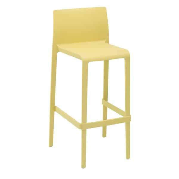 Florida Seating VOLT-B / YELLOW Pedrali® Volt Barstool