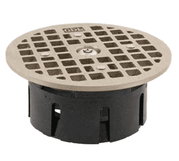 "FMP 102-1171 Guardian Drain-Lock Grate For 3-1/2"" ID Smith floor drain housing"