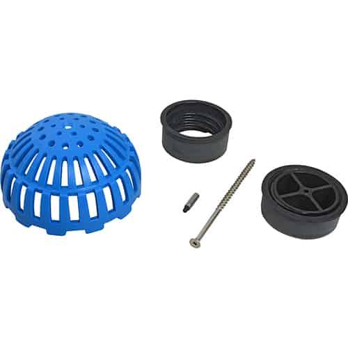 "FMP 102-1196 PermaDrain Floor Drain Dome Strainer Fits 3"" floor sinks  floor drains  mop sinks  and other drains"