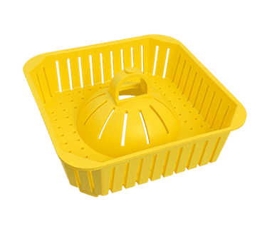 "FMP 102-1200 PermaDrain Floor Drain Safety Basket Fits 8"" to 8-1/2"" square floor sink"