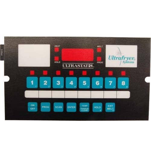 FMP 103-1074 Ultrastat 21 Overlay For models with Ultrastat 21 control