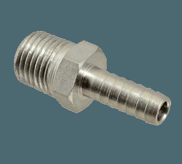 "FMP 104-1058 Male Pipe Hose Nipple 1/4"" NPT x 1/4"" ID hose"