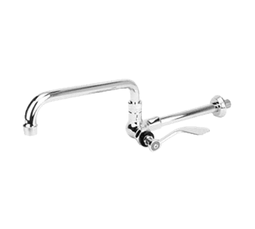 "FMP 107-1125 Encore Wok Range Faucet With Swing Spout by CHG 10"" spout"