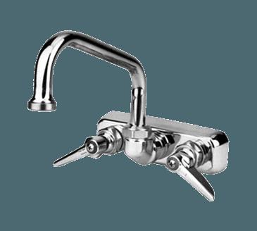 "FMP 110-1138 1100 Series 4"" Center Gooseneck Faucet by T&S Brass"