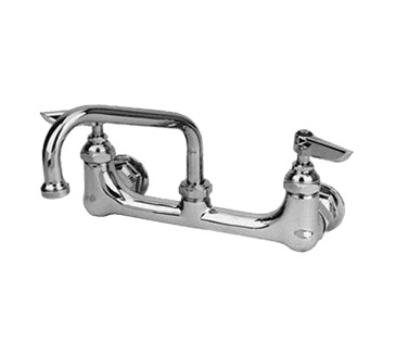 "FMP 110-1201 Eterna 200 Series 8"" Center Faucet by T&S Brass 8"" spout"