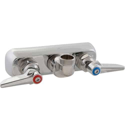 """FMP 110-1226 1100 Series 4"""" Center Faucet by T&S Brass No spout"""