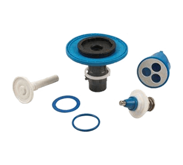 FMP 117-1301 AquaVantage Toilet Flush Valve 3.5 GPF Rebuild Kit by Zurn Triple filter by-pass
