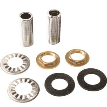 FMP 117-1336 Nipple Kit by CHG For simple installation of deck faucets and pre-rinses