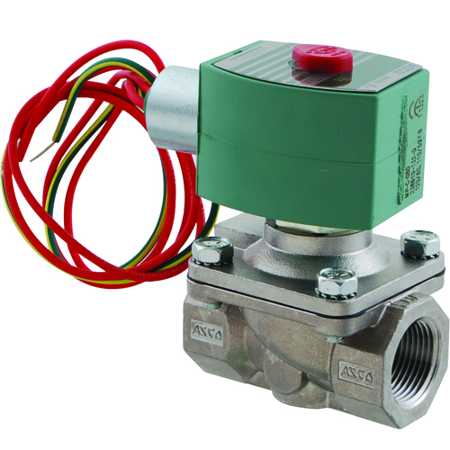 """FMP 117-1403 Asco Hot Water-Rated Solenoid Valve 3/4"""" NPT inlet and outlet"""
