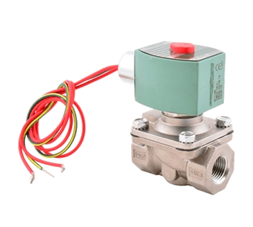 """FMP 117-1405 Asco Hot Water-Rated Solenoid Valve 1/2"""" NPT inlet and outlet  normally closed"""