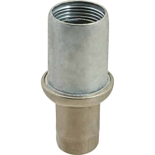 """FMP 119-1053 Zinc Die-Cast Bullet Foot For 1-5/8"""" OD round tubing"""