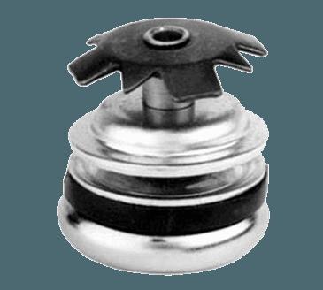 "FMP 121-1026 1-1/16"" Swivel Base Flush Glide For 1"" OD round tubular leg"