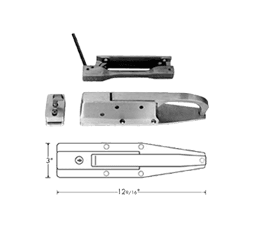 FMP 122-1129 Safety Latch and Strike with Inside Release