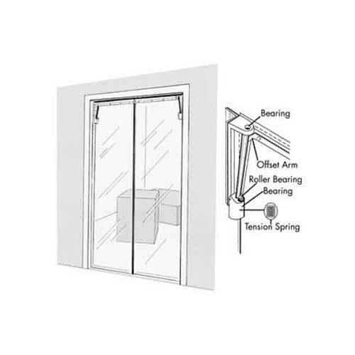 FMP 124-1280 Clear Vu Swinging Door