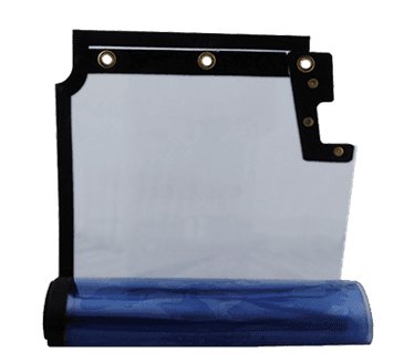 FMP 124-1306 Clear-Vu Swinging Door Panel