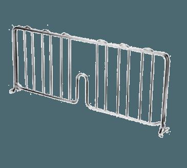 "FMP 126-1604 Super Erecta Series Wire Shelf Divider by Metro 21"" wide"