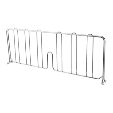 "FMP 126-1605 Super Erecta Series Wire Shelf Divider by Metro 18"" wide"