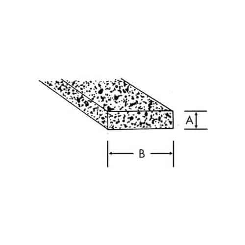 FMP 127-1075 Sponge Rubber Gasket 50' length