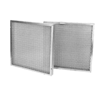 "FMP 129-1011 1"" Mesh Grease Filter Galvanized steel frame 16"" H x 20"" W"