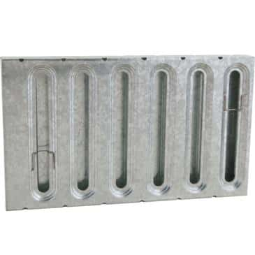 """FMP 129-1247 Grease Filter Galvanized steel 12"""" H x 20"""" W"""