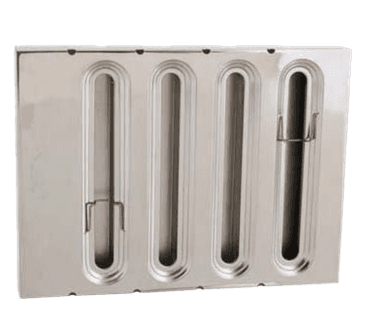 """FMP 129-1250 Grease Filter Stainless steel 12"""" H x 16"""" W"""