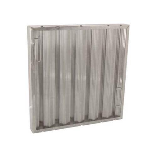 """FMP 129-2059 Baffle Grease Filter by Trine Galvanized steel 12"""" H x 16"""" W"""