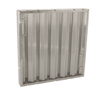 "FMP 129-2059 Baffle Grease Filter by Trine Galvanized steel 12"" H x 16"" W"