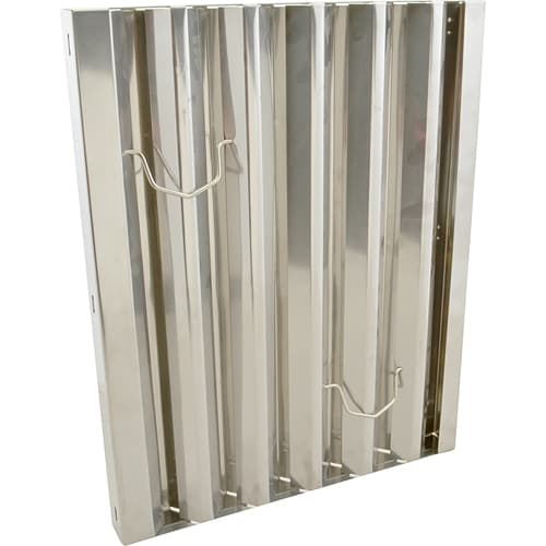 "FMP 129-2115 Flame Gard Type III Baffle Grease Filter 20"" H x 16"" W"