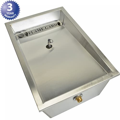 FMP 129-2120 Rooftop Grease Interceptor Separates grease from rainwater