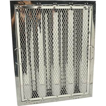 """FMP 129-2138 Baffle Grease Filter for Captive-Aire Stainless steel  20"""" H x 16"""" W"""
