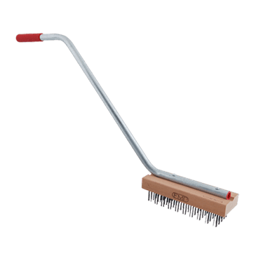 FMP 133-1172 Coarse Bristle Broiler/Grill Brush with Handle