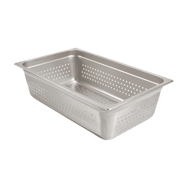 """FMP 133-1296 Perforated Steam Table Pan Full-size  6"""""""