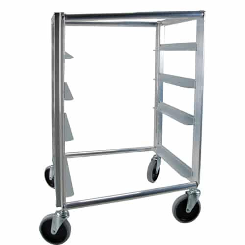 """FMP 133-1337 Rack Cart Holds four 20"""" x 20"""" racks"""