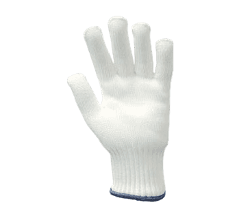 FMP 133-1353 BacFighter 3 Safety Glove by Tucker Safety Products Medium  blue wristband