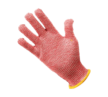 FMP 133-1425 KutGlove Cut Resistant Safety Glove by Tucker Safety Products X-Small  yellow wristband