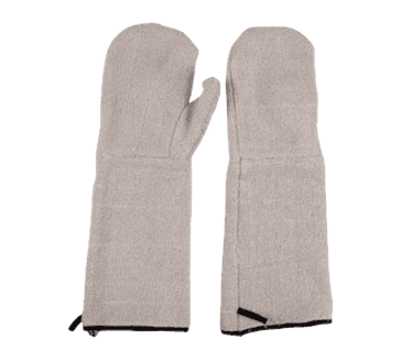 "FMP 133-1479 Oven Mitts 17"" overall length  sold by the pair"