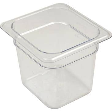 FMP 133-1706 StorPlus Food Pan by Carlisle Sixth-size  -40* to 212*F temperature range