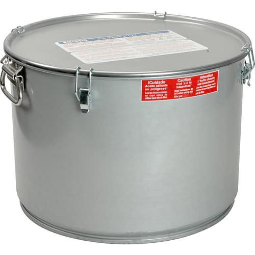 FMP 133-1842 Oil Filter Pot by Miroil For fryers with 55 lb oil capacity