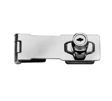 FMP 134-1025 Locking Hasp Chrome-plated steel