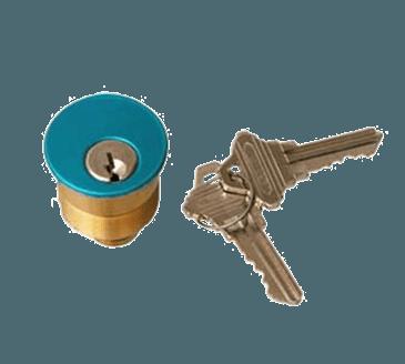 FMP 134-1144 Emergency Exit Alarm Cylinder Lock with Keys by Detex