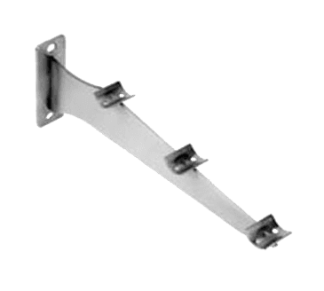 FMP 135-1186 Fold-Down Tray Slide Bracket Stainless steel