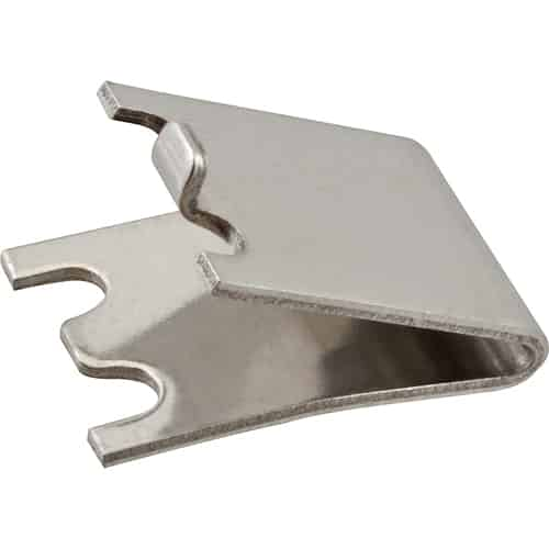 FMP 135-1245 Pilaster Clip Stainless steel