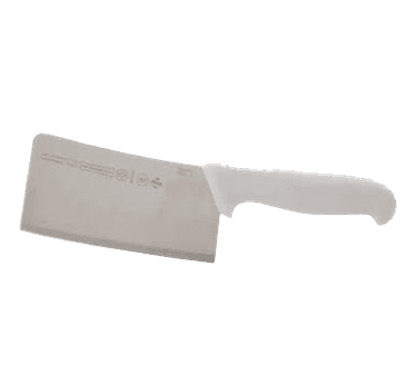 """FMP 137-1313 Cleaver by Mundial 6"""" blade  white handle"""