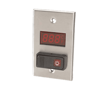 FMP 138-1207 Digital Thermometer with Light Switch -40* to 230*F