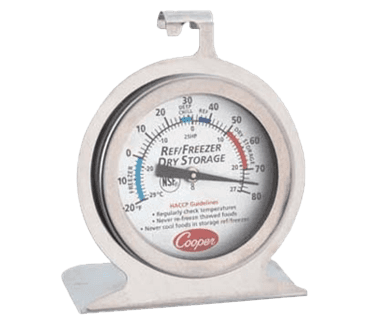 FMP 138-1249 Heavy-Duty Thermometer -20* to 80*F