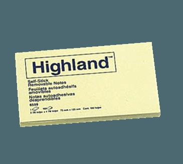 FMP 139-1065 Self-Sticking Notepad