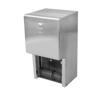 FMP 141-2021 Reserve Roll Toilet Tissue Dispenser by Bobrick Surface mounted