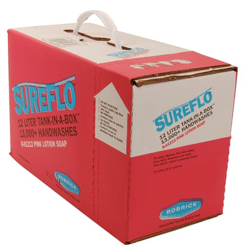 FMP 141-2113 SureFlo Tank-In-A-Box Lotion Soap by Bobrick Inner container with a spout for direct dispensing